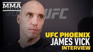 UFC Phoenix: James Vick Respects Khabib Nurmagomedov For Wanting to Sit Out During Teammates