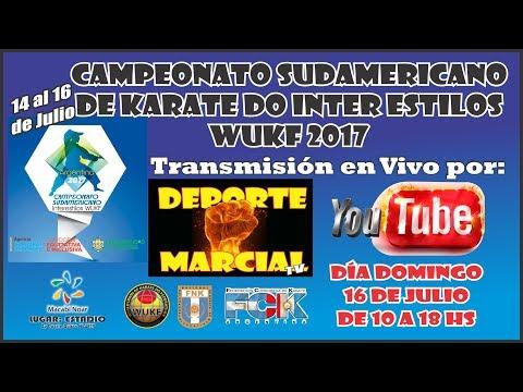 CAMPEONATO SUDAMERICANO DE KARATE DO DOMINGO 16 DE JULIO