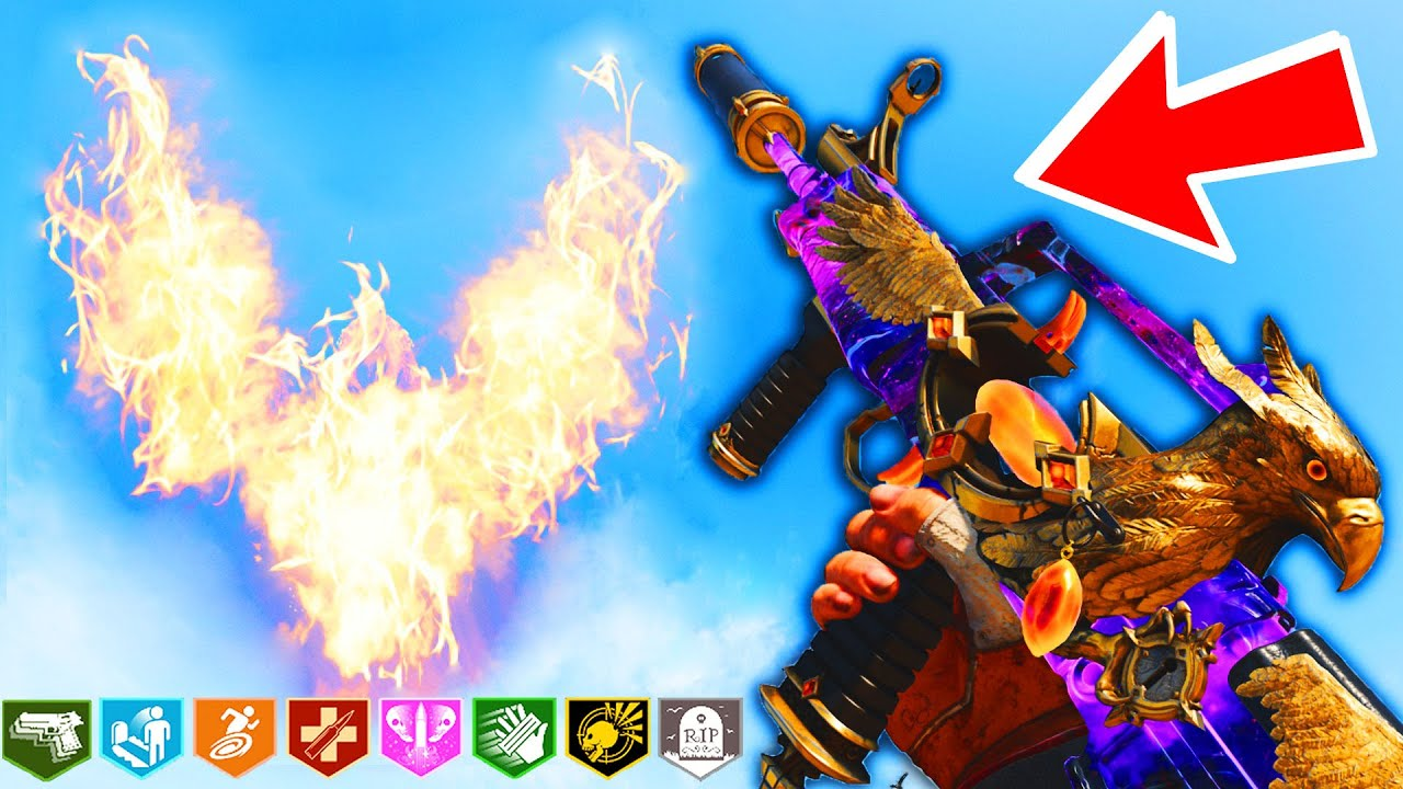*NEW* Weapon that UNLEASHES FIRE PHOENIX in Zombies! Tracer Pack Firestorm Maxis Mastercraft Bundle