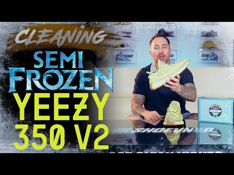 How to Clean Yeezy Boost 350 V2 Semi Frozen