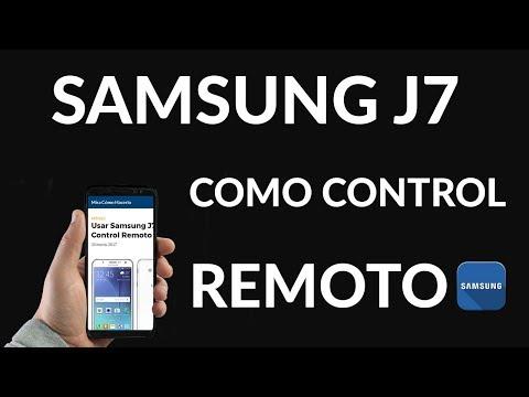 Usar Samsung J7 como Control Remoto