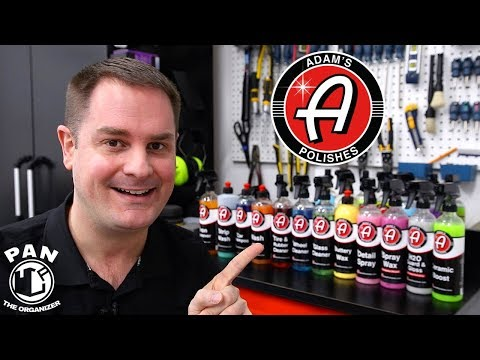 ADAM'S POLISHES DETAILING PRODUCTS: BRAND REVIEW !!