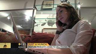 Posture problems linked to cell phones