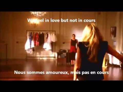 glee americano dance again paroles traduction vid o youtube. Black Bedroom Furniture Sets. Home Design Ideas