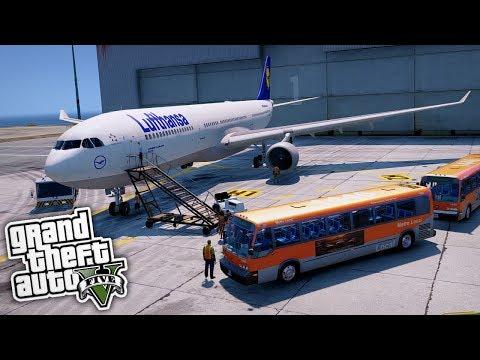 Wir werden Pilot! 😱 - GTA 5 Real Life Mod