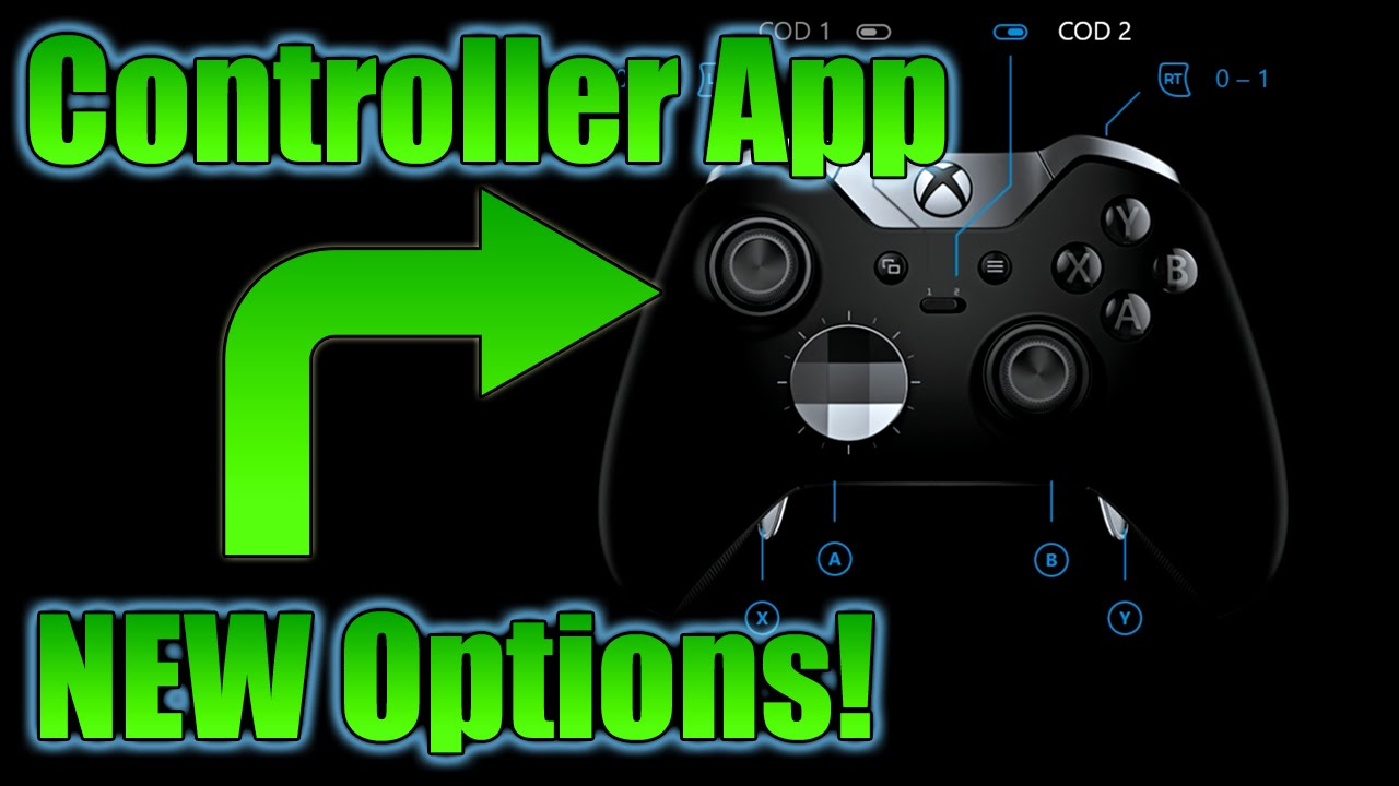 Xbox One Elite Controller App Update Guide - NEW ...Xbox 360 Controller App