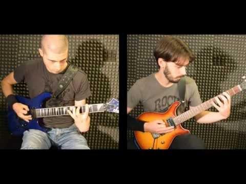 RESUMED - Carlo Alfonso Pelino & Daniele Presutti - U.F.O. (GUITARS PLAYTHROUGH)