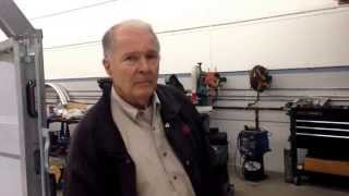Legendary designer of the Stingray and Daytona Coupe, Peter Brock, talks about his latest project.