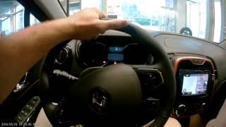 обзор салона Renault Kaptur