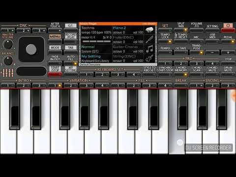 Lakshya theme on Keyboard