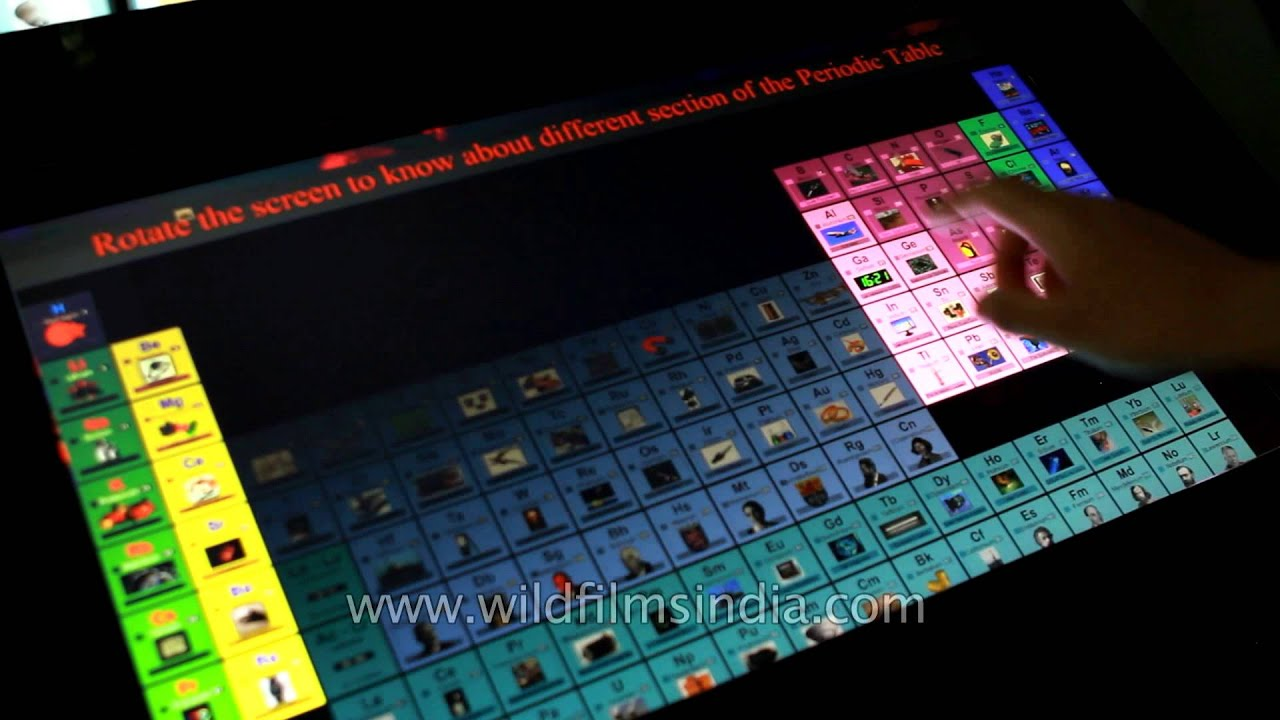 Different section of periodic table youtube urtaz Gallery