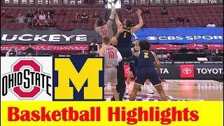 Michigan vs <b>Ohio State Basketball</b> Game Highlights 2 21 2021 ...