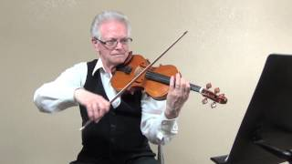 Marche Slave Violin 1 Bar 13-48 Tutorial