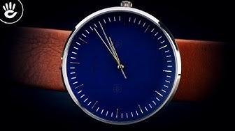 Review đồng hồ Fossil FS5473 kiểu dáng đơn giản 3 kim trên nền mặt xanh size 42mm