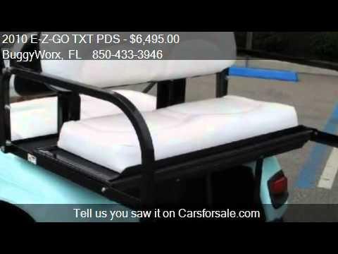 2010 E-Z-GO TXT PDS Nautical pkg - for sale in Pensacola, FL
