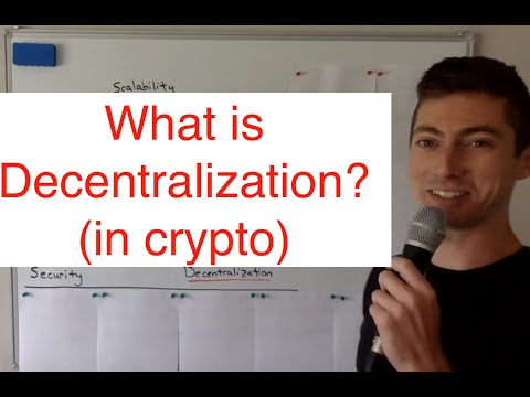What is Decentralization (in Cryptocurrencies)? || The Blockchain Trilemma
