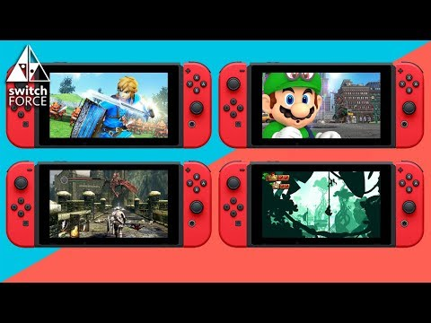 COMPLETE RANKING New Switch Games + Announcements!! EARLY 2018