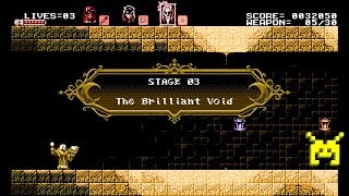 Let's Play Bloodstained: Curse of the Moon: The Brilliant Void (3/8)