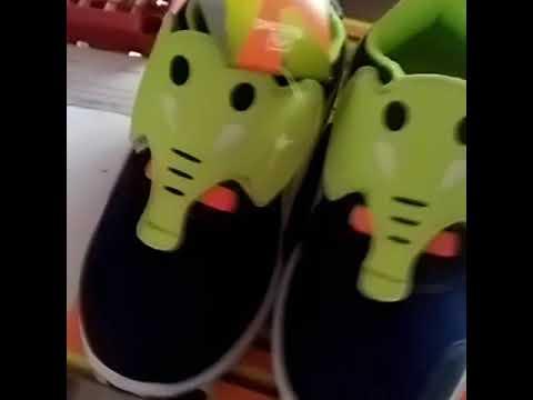 Sepatu LED Anak Karakter Gajah