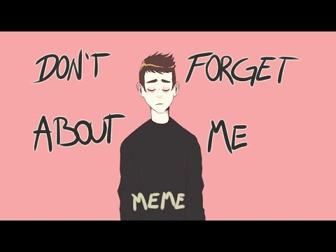 Don't forget about me [MEME] (Tyler Joseph/Blurryface)