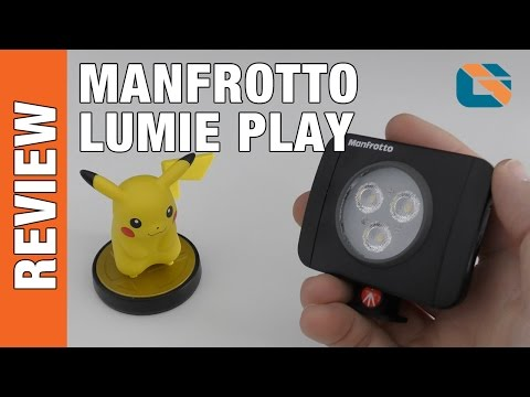 Manfrotto LUMIE Play LED Camera Light Review