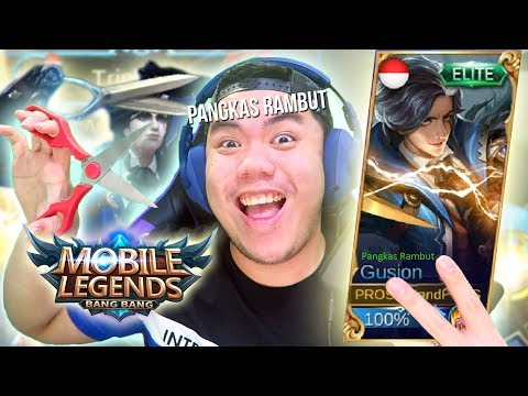 MOBA KOK PANGKAS RAMBUT? HAHAHA AKHIRNYA YA... - Mobile Legends Indonesia #74