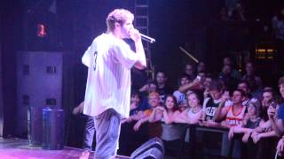 Lil Dicky Does a Freestyle at his show in Buffalo, NY 5/29/15