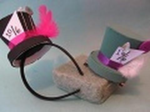 4.3 MiniSombrero para tu disfraz (Estilo