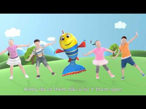 Quảng cáo dầu ô-liu Kiddy cho bé yêu (Phiên bản bé nhảy full)
