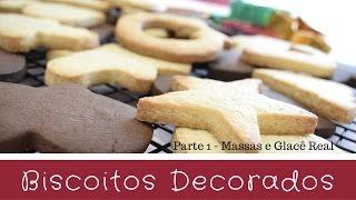 biscoito decorados a melhor massa e como fazer glacê real caseiro 🎄 bellaria chocolatier parte 1