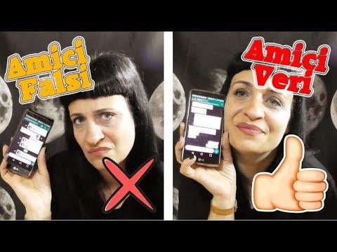 AMICI FALSI VS AMICI VERI