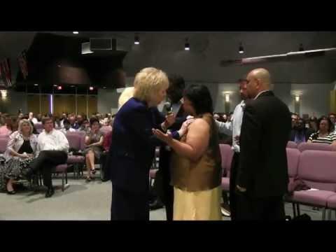 Prophet Glenda Jackson at New Life Church in Houston Texas 3-31-2013 part 1 of 2