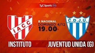 Institute vs Juv.Unida Gualeguaychu full match