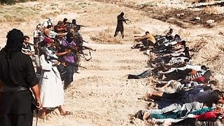 Slaughter in Iraq - Sunni extremists release images said to show mass executions