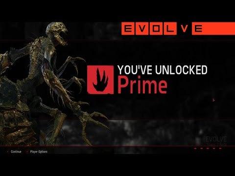 Evolve Stage 2: The Prime Skin Is Among Us - The Road To Gorgon Prime! (Live Stream)
