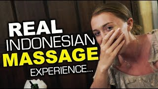 We Got An INDONESIAN MASSAGE and THIS Happened!