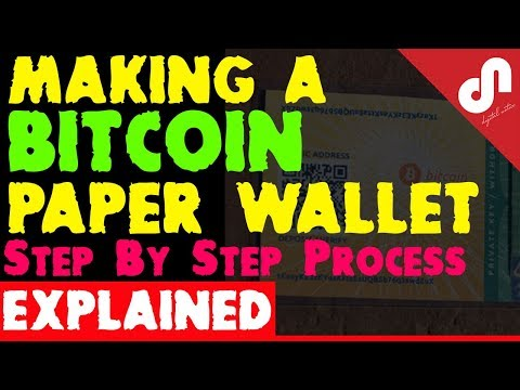 How to make a Bitcoin Paper Wallet - Step by Step Process Explained- How Secure is it ? [Hindi]