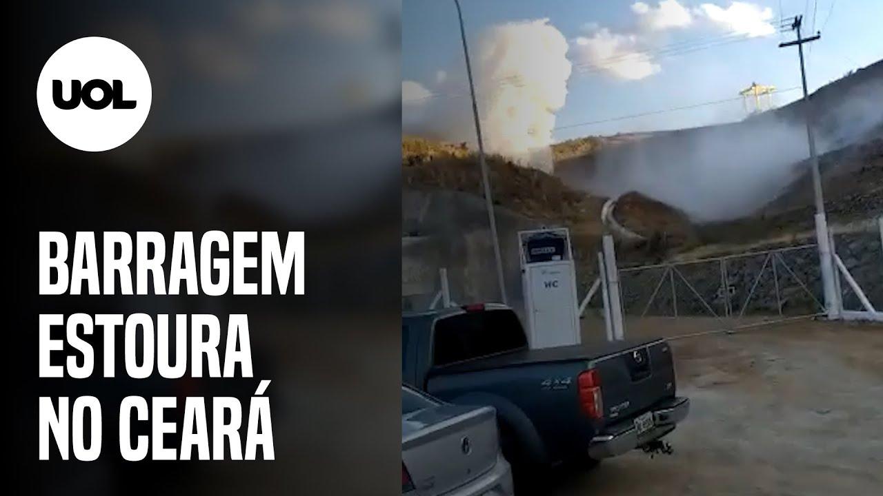 Barragem no Ceará estoura e cerca de 2.000 pessoas são retiradas de casa