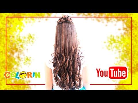 Peinado Para Primera Comunión | Peinados Elegantes | Stylish Hairstyle