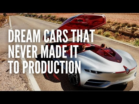 10 Dream Cars that Never Made it to Production