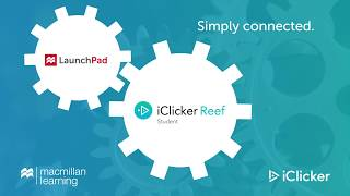 Macmillan LaunchPad and iClicker Reef Integration
