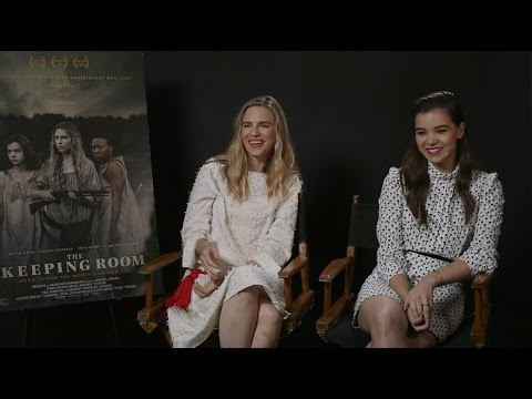 Brit Marling and Hailee Steinfeld Talk \'The Keeping Room\', Filming ...