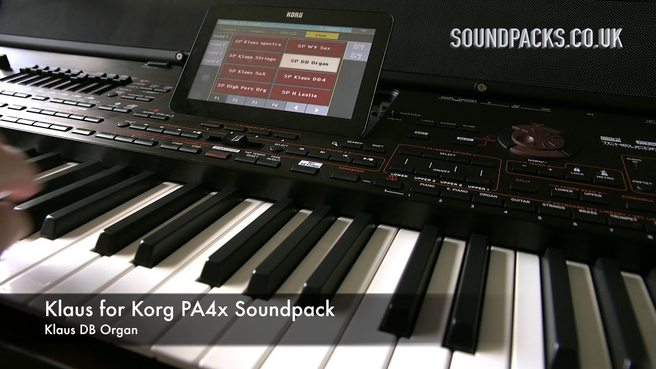 Korg PA4x Soundpacks / Download - Musik Forum