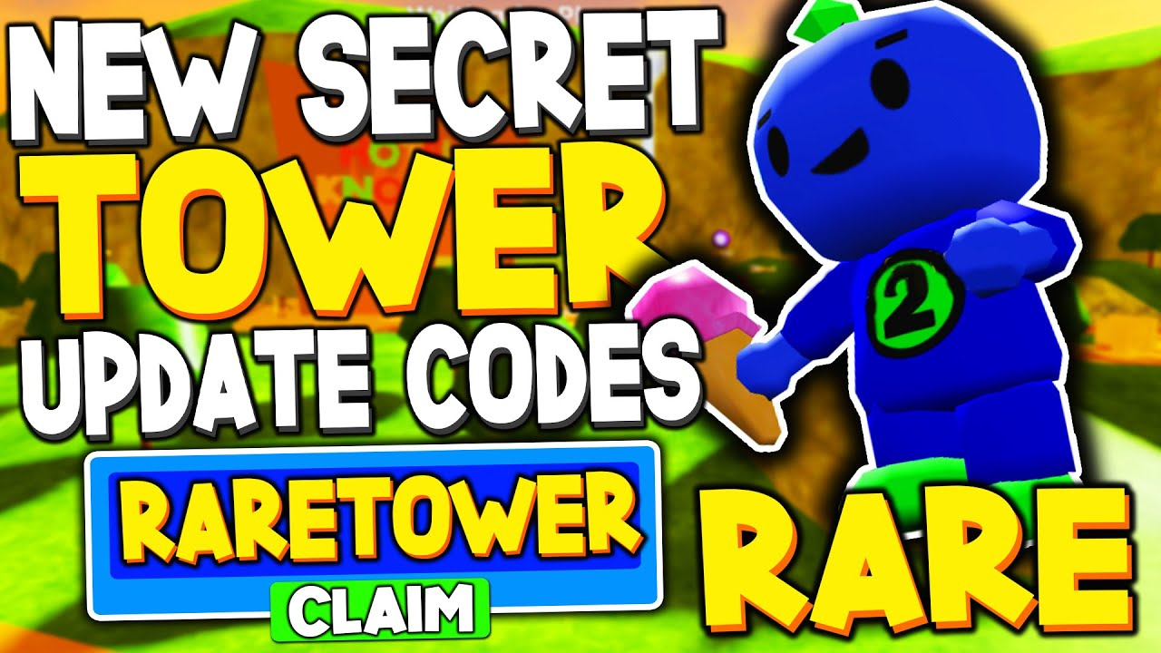 Jeromeasf Roblox Tower Heroes New Secret Tower Update Codes In Tower Heroes Roblox Youtube