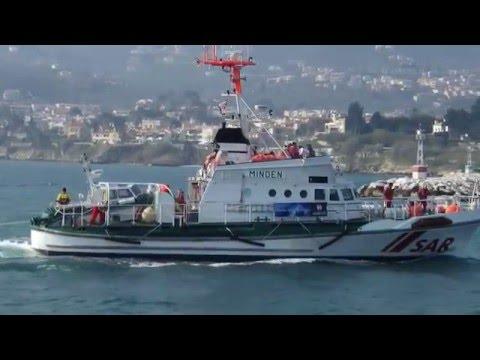 DGzRS Minden SAR in Aegean Sea.