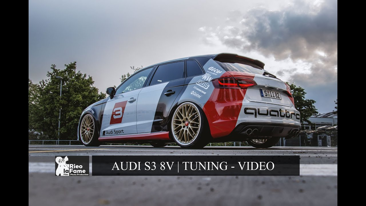 audi a3 tuning s3 8v 300ps tuning audi sport youtube. Black Bedroom Furniture Sets. Home Design Ideas