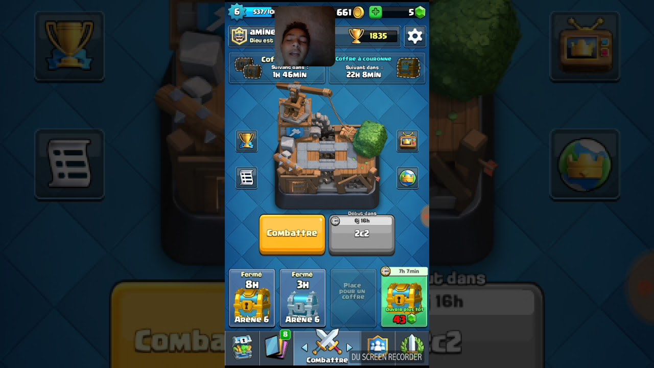 Deck ar ne 6 youtube for Deck arene 6 miroir