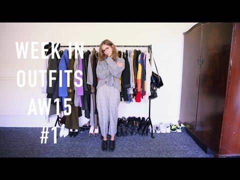 Week in Outfits AW15 #1 | sunbeamsjess
