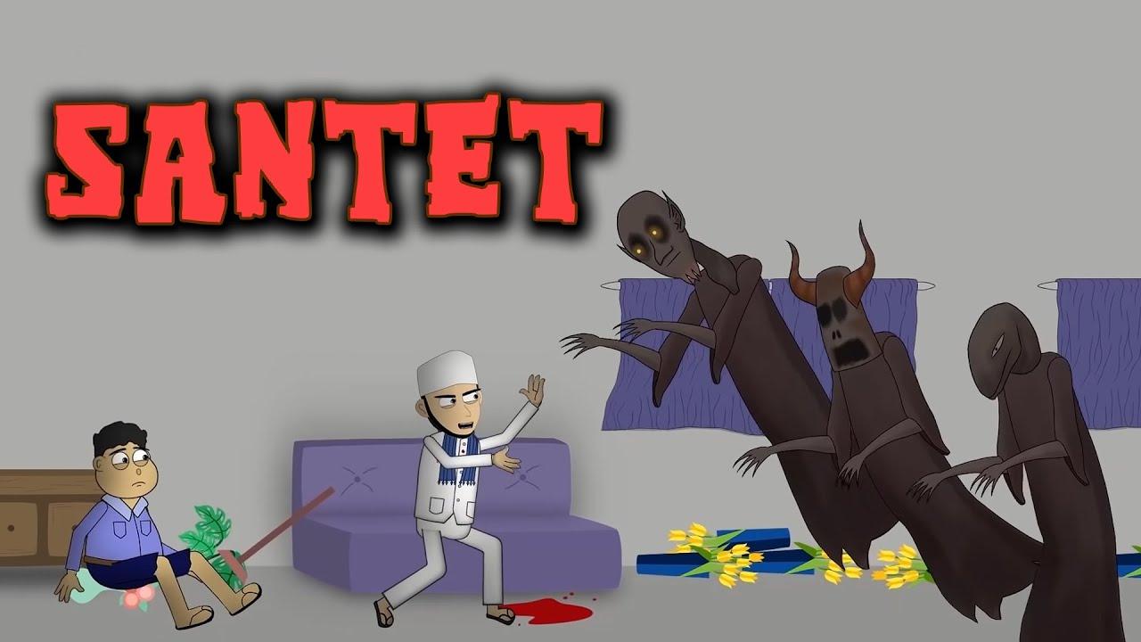 Teror Dukun Santet - Animasi Horor Kartun Lucu - WargaNet Life