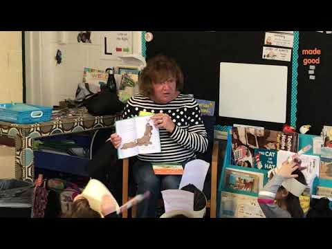 I Love to Read month at Phillip C. Showell Elementary School